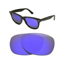 NEW POLARIZED CUSTOM PURPLE LENS FOR RAY BAN WAYFARER 2140 50mm SUNGLASSES